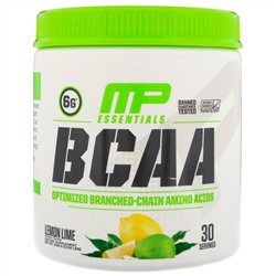 MusclePharm, BCAA Essentials, Лимон и лайм,  0,52 фунта (234 г)