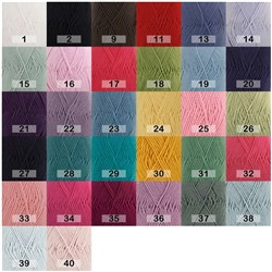 DROPS MERINO EXTRA FINE MIX/UNI COLOUR